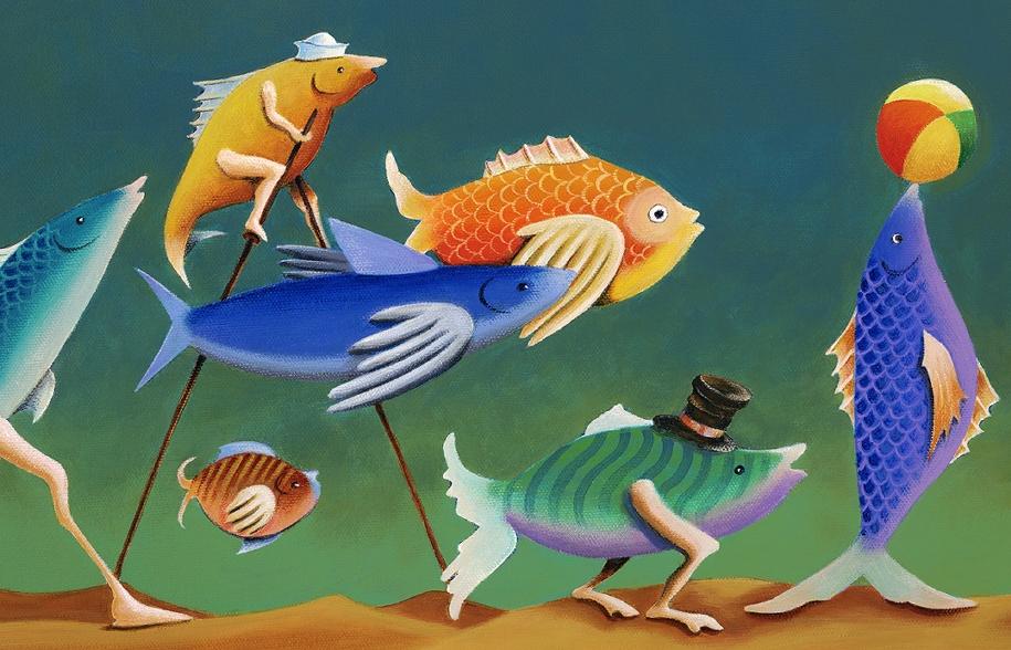 челны эволюция рыбы картинки всё что